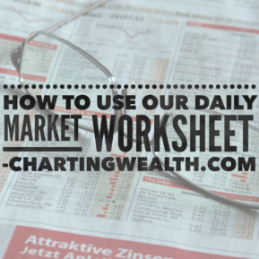 Daily Market Worksheet